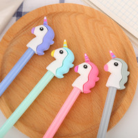 40 pezzi Cute Cartoon Unicorn penna cinese creativo Studente d'acqua dolce Firma Penna kawaii materiale scolastico