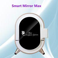شحن مجاني! المحمولة آلة تحليل بشرة الوجه 3D السحرية مرآة حب الشباب الصباغ التجاعيد اختبار المعدات DHL
