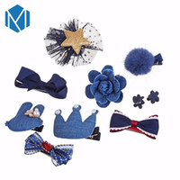 10pcs set Headwear Set Children Accessories Ribbon Bow Hair ...