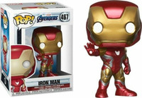 Nuove Funko Pop Marvel Avengers 4 Tony Stark Thor Thanos Vedova Nera Toy Iron Man
