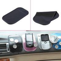 ビッグサイズ14cm * 8cmのかわいい使いやすいスーパースティッキーサクション車のダッシュボードのマジックパッドマット電話PDA MP3 MP4すべての色
