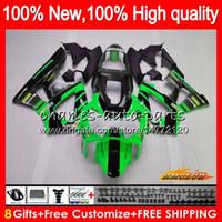 Cuerpo para HONDA CBR900 RR CBR 929RR 900 929 RR CC 900RR 00 01 76HC.83 900cc 929CC CBR929RR verde stock CBR900RR CBR929 RR 2000 2001 carenado