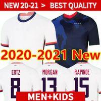 20 21 Neue Weltmeisterschaft 2020 US PULISIC Fussball Jersey Bradley Lloyd Altidore 2021 Holz America Football Jerseys United States Shirt Camisetas