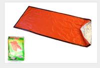 Открытый спальные мешки согревающее Одно PE спальный мешок Casual Водонепроницаемый Одеяло Конверт Отдых Путешествия Туризм Одеяла спальный мешок