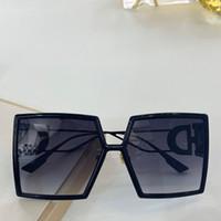 086 óculos de sol desenhados para mulheres óculos especiais de protecção UV Goggle Vintage Big square Frame de qualidade superior grátis vêm com pacote
