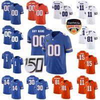 Florida Gators College Football-Trikots 6 Jeff Drikelel Jersey 15 Tim Tebow 13 Feleife Franks Jacob Copeland Emmitt Smith Custom genäht