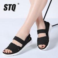 Данные 2020 году женщины плоские сандалии Обувь женская тканые Клин сандалии дамы пляж лето slingback сандалии сланцы туфли 802 S20326