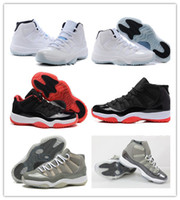 11s carbon fiber 11 Bred Concord Legend Blue Basketball Shoe...