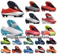 2021 Мужчины Va Pors XIII ELITE FG 13 CR7 Roaldo Neymar NJR Скорость сна 002 Будущая лаборатория ДНК Женщины Мальчики Футбол Футбольная Обувь US 3-11