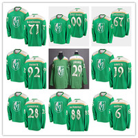 713decc0f53 2019 St. Patrick s Day Reaves Vegas Golden Knights Ice Fleury Stone  Karlsson Marchessault Nate Schmidt