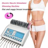 Perda de peso ems estimulador muscular Electrostimulation máquina / Waves russos musculares ems Máquina elétrica Estimulador uso doméstico salão de beleza