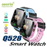 Q528 LBS Смарт часы Детские наручные часы Водонепроницаемый Детские часы с дистанционным камеры SIM Calls подарок для детей рк dz09 gt08 A1L SmartWatch