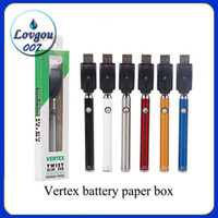 law vertex twist battery with Bottom Twist Button 380mAh Sli...