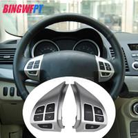 tellerle Mitsubishi ASX 2007-2012 Çok fonksiyonlu Otomobil direksiyon kontrol düğmeleri İÇİN Yüksek kaliteli Araç-stil düğmeler