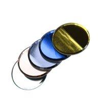 Clavo de composición dual polaco Crema de mezcla de cuchara palillo de espejo de cristal clavo falso de anuncios tablero paleta de colores T0098