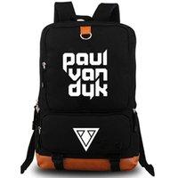 بول فان دايك حقيبة الظهر Matthias day top dj حقيبة مدرسية packsack الكمبيوتر المحمول جيب حقيبة الظهر الرياضة المدرسية daypack