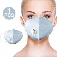 In Stock Folding Mask with Breathing Valve Face Protective M...