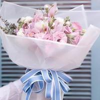 DIY 수제 재료 10styles FFA1455N 포장 20PCS / 많은 서리로 덥 꽃다발 포장지 웨딩 휴일 꽃 선물 축제 장식