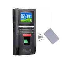 supporto di comunicazione presenze del TCP / IP biometrico di impronte digitali Porta Sistema di Controllo Accessi e Tempo 125KHZ RFID Card, sn: F131