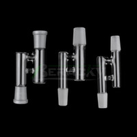 14mm 18mm Reclaim Catcher Adapters Female Male Oil Reclaim Ash Catcher Glass Drop Down Adapters For Quartz Banger Oil Dab Rigs Water Bongs