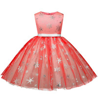2018 Summer Baby Girls Dress Sleeveless Bow Embroidery Kids ...