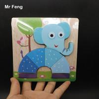 Весело Слон Деревянные Головоломки Подарочные Игрушки Для Детей Образования И Обучения Головоломки Опора ( Номер Модели B172 )