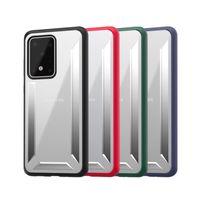 Матовый Clear TPU PC Tough Hybrid Доспех противоударный чехол для iPhone 11 Pro Max 2019 XS XR X 8 7 Samsung S20 Ультра Примечание 10 10+ OnePlus 6T