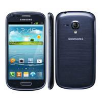 Восстановленное Оригинал Samsung I8190 Galaxy SIII Мобильный телефон Galaxy S3 Мини сотовый телефон Двухъядерные 1500 мАч Android Phone