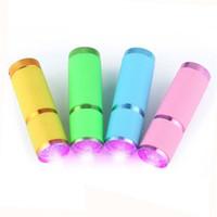 Freies dhl 9 led mini uv taschenlampe ultraviolett inspektionsdetektor taschenlampe hand tragbare taschenlampe mit 3 * aaa-batterien