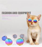 Belle Pet Cat Lunettes pour chien Lunettes Produits pour animaux de compagnie pour Little Dog Cat Eye-usure Protection Dog Lunettes de soleil Photos Animaux Accessoires