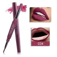 Miss rose lip liner 12 cores de longa duração matte lip lip hidratante à prova d 'água batons maquiagem contour cosméticos