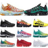 2019 Running shoes for mens PURE PLATINUM Rainbow Red China ...
