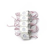 High Power SMD 3030 LED-Hintergrundbeleuchtung Modul IP67 Wasserdichtes Einspritzung LED Modul, Werbung LED-Modul DC12V 1.5W mit Objektiv Crestech