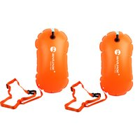 2Pcs Dry Bag Ultralight Impermeabile Boa per Open Water Triathletes Kayak Snorkeling Surfisti Spiaggia Nuoto Canottaggio Accesso