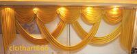 6 m Geniş Swags Valance Düğün Stilisti Backdrop Parti Damla Perde Kutlama Sahne Performansı Arka Plan Güzel Drows Süslemeleri
