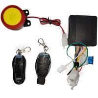 12V 125DB Universal Motorcycle Bike System System Moto Remote Control Engine Start + Alarme Moto altavoz