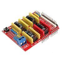 Freeshipping 1PC CNC + UNO R3 Board + 4 X DRV8825 Treiber Kit Für 3D Drucker Modul Board Neue Großhandel