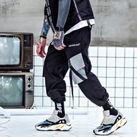 Ywsrlm 2018 Мода осень карманы грузов гарем брюки Мужские бегунов мешковатые тактические брюки Harajuku уличная хип-хоп Хабар XXL