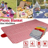145x200cm Waterproof Foldable Outdoor Camping Mat Widen Picn...