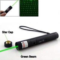 High Power 532nm Laser Stift 303 Zeiger Einstellbarer Fokus Laser Stift Grün Sicherer Schlüssel Ohne Batterie Und Ladegerät DHL-freies Verschiffen