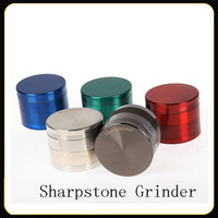 Original Sharpstone Grinders 4 Pieces Tabacco Herb Grinder 4...