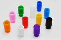 E- cigarette Disposable Drip Tips 510 Silicone Mouthpiece Cov...