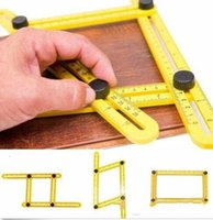 Heerser Set Hand Tool Praktal Vier Vouwen Plastic Metrische Schaal Multifunctionele meethulpmiddelen Top Sale Multi Angle Ruler WY010