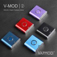 Original Vapmod V Mod II Batería Vmod 2 cigarrillo electrónico cargador de batería de 900mAh Kit 2.6-4.1V Vape Mods Comentarios Edición Haptic