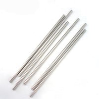 New Durable Stainless Steel Straight Drinking Straw Straws M...