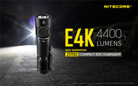 NITECORE E4K 4400 Lumens Compact Flashlight LED Torch with 5...