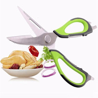 Multi-Function forbici da cucina in acciaio inossidabile Chicken Bone Smontare Forbici di Shear Cut Anatra Fish Kitchen Forbici Attrezzi DHL libero