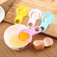 Food Grade PP Materiale Separatore bianco d'uovo Colorato Manico corto Distributore di uova Multi colori Utensili da cucina 0 35ll L1