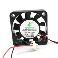 Yeni Orijinal FONSONING FSY40S12L DC12V 0.05A DVR Dilsiz için 40x40x10 MM 4 CM soğutma fanı