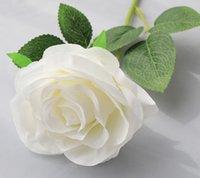 زينة الزفاف مصنع الجملة ارتفع الزهور الاصطناعية مع بتلات الورد الاصطناعي نابض بالحزام الزخرفية الورود الكبيرة